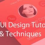 Best UI Design Tutorials, Tips & Techniques
