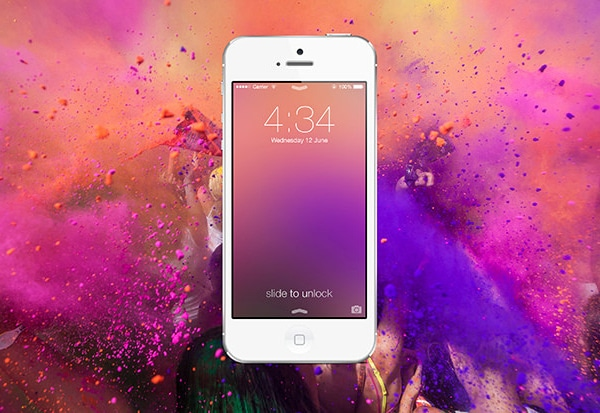 Create a Custom iOS 7 Style Blur Background in Photoshop