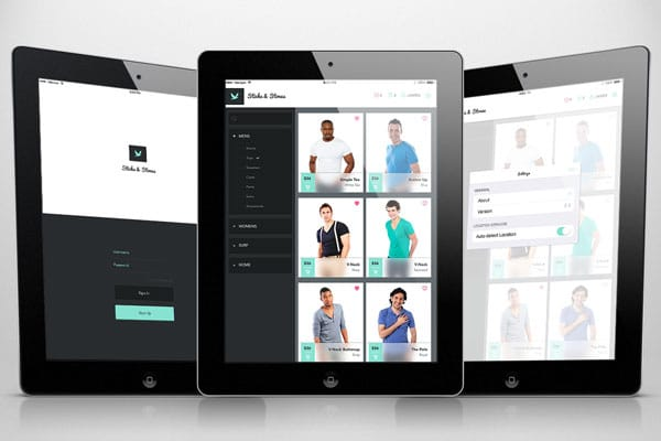Create a Mobile Shopping App Design in Photoshop