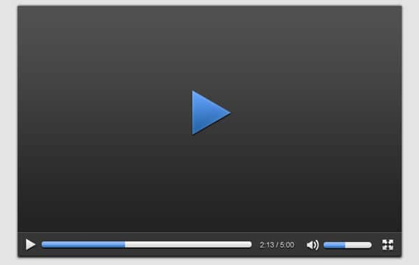 Create a Slick Video Player UI in Photoshop