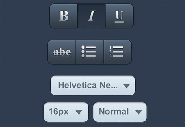Designing Custom iOS App Interface Elements using Photoshop