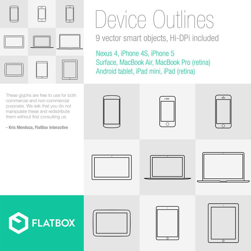 Device Outline Sets