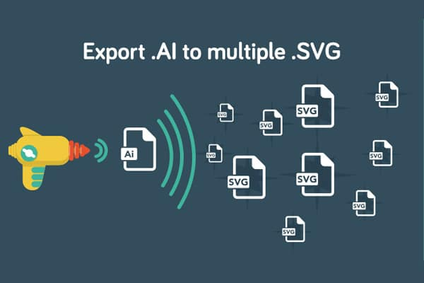 Export Multiple Icons to SVG Files From Adobe Illustrator