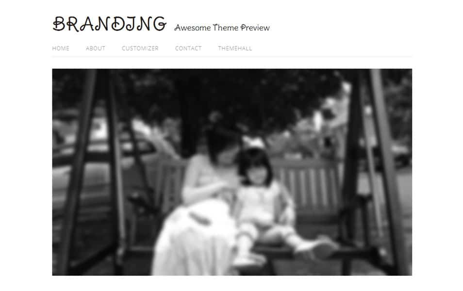 Family Free Photography WordPress Theme