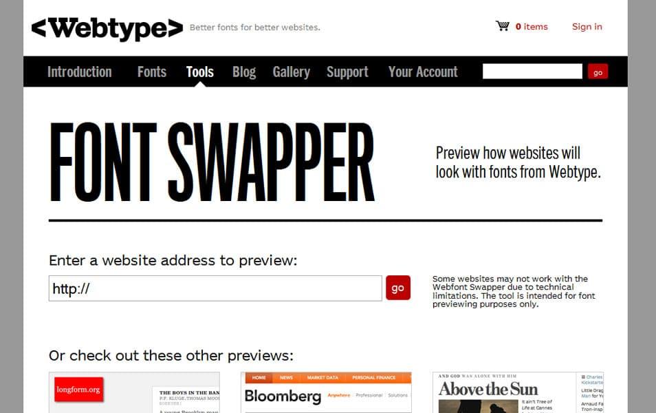 Font Swapper