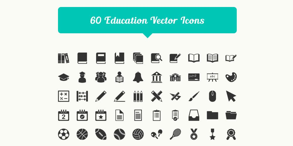 free-education-vector-icons