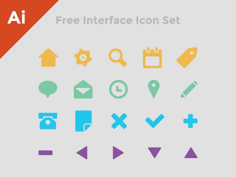 Free Interface Icon Set