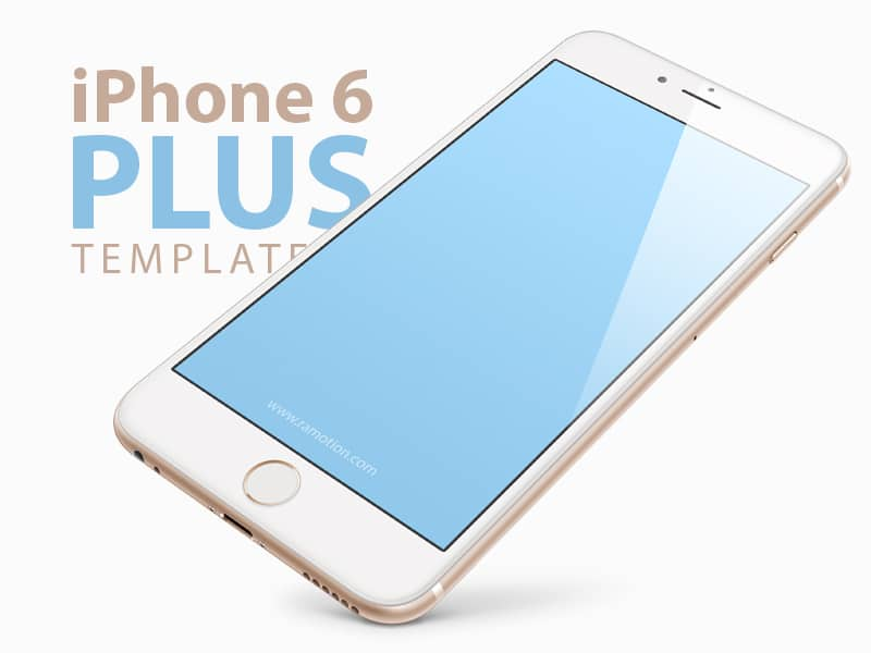 Free iPhone 6 Plus Mockup