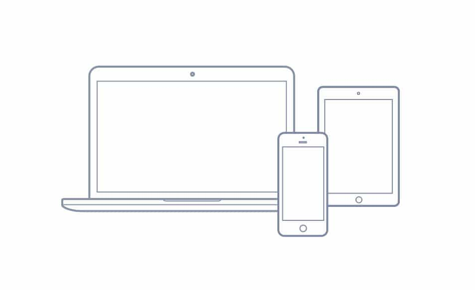 Free vector: Macbook, Ipad, and Iphone