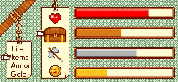 How to Create a Pixel Game UI in Adobe Photoshop