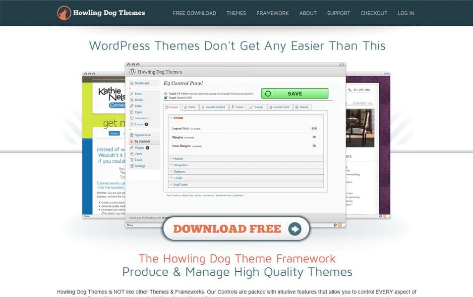 Howling Dog Theme Framework