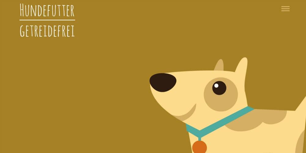Hundefutter Getreidefrei