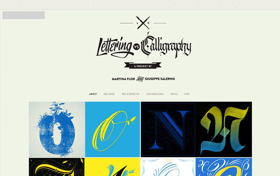 Lettering versus Calligraphy