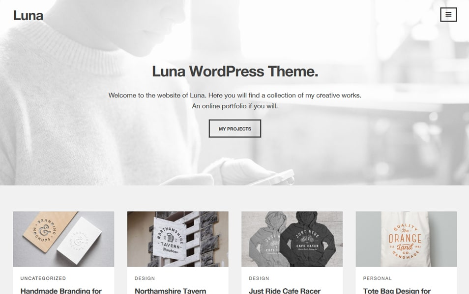 Luna Responsive WordPress Theme