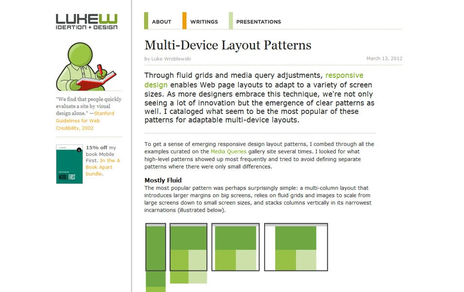 Multi Device Layout Patterns