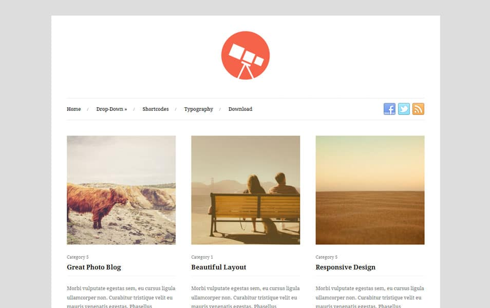 100+ Free Photography WordPress Themes 2018 » CSS Author