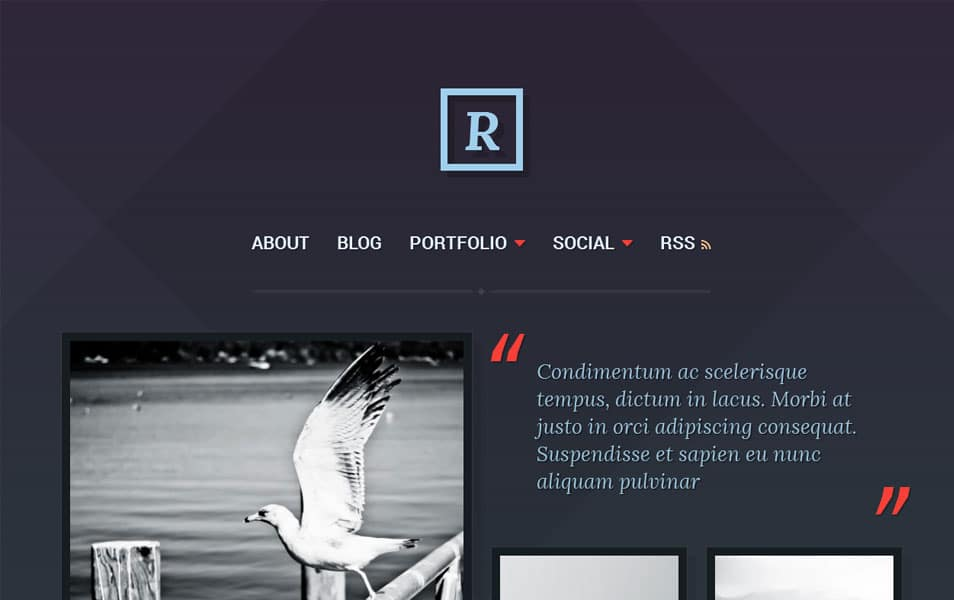 Ravel Free Photography WordPress Theme