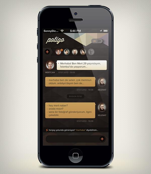 Realistic iPhone 5 Mockup
