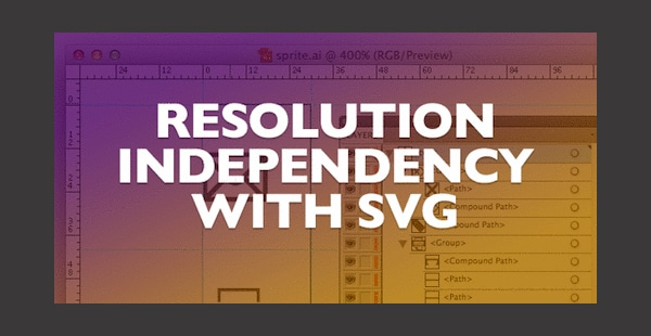 Resolution Independence With SVG