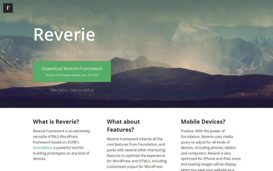 Reverie Framework
