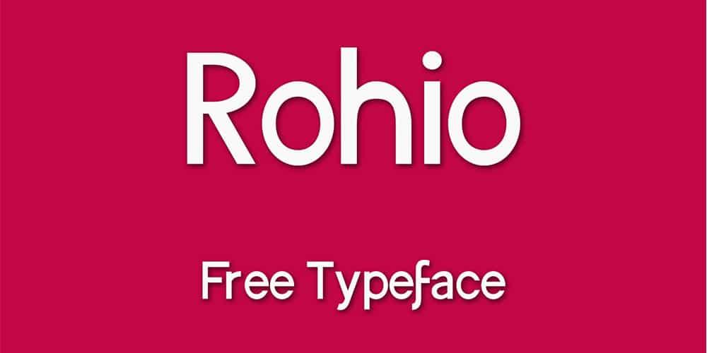 rohio-free-typeface