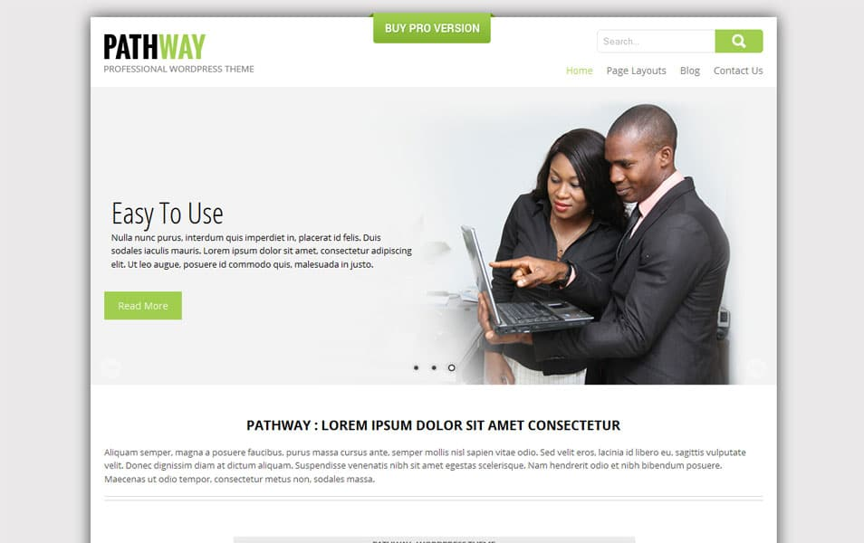 SKT Pathway Free Photography WordPress Theme