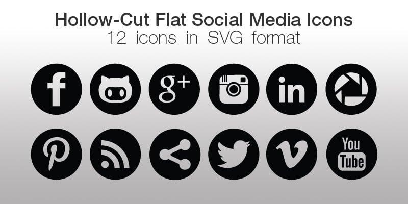 Social Sharing Vector Icons