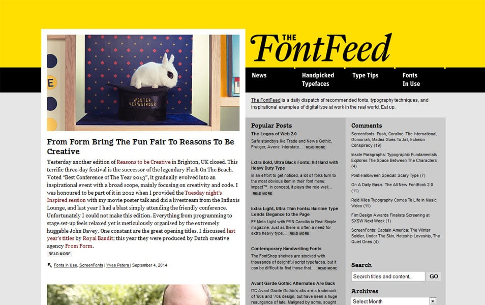 The FontFeed