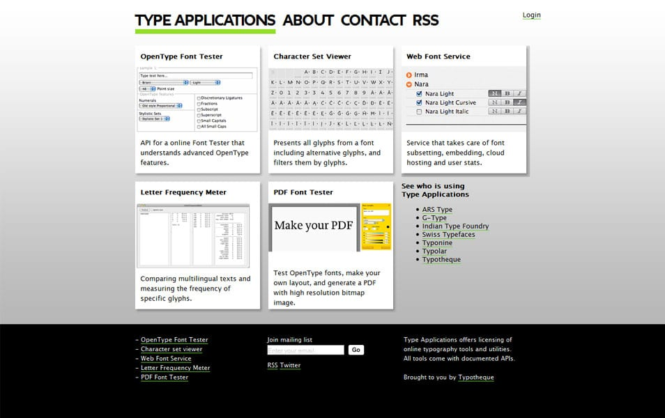 Type Applications