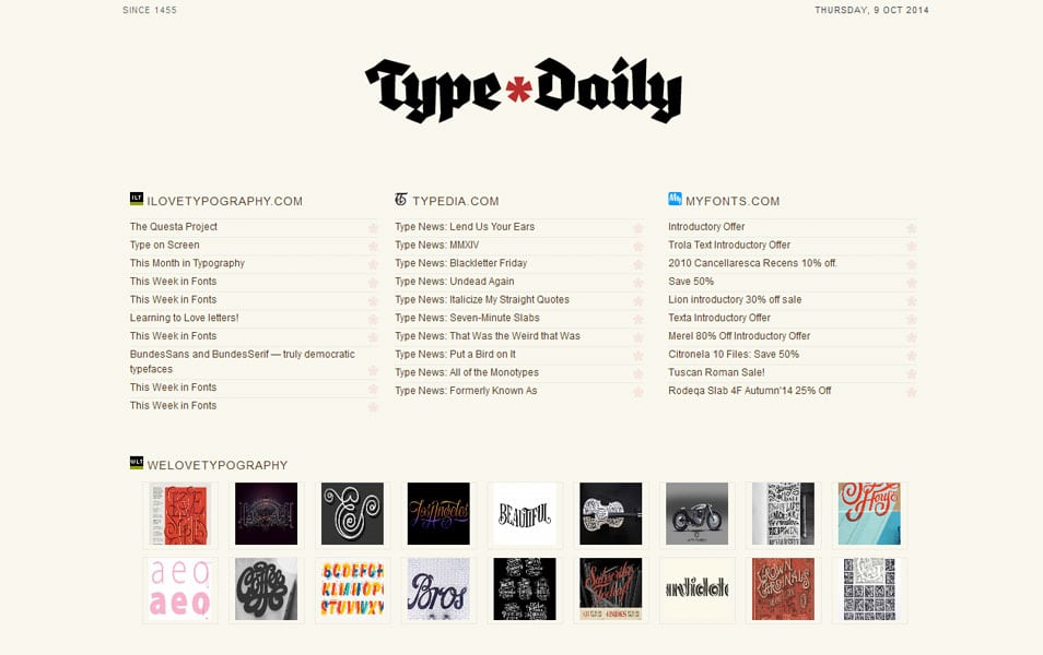Type Daily