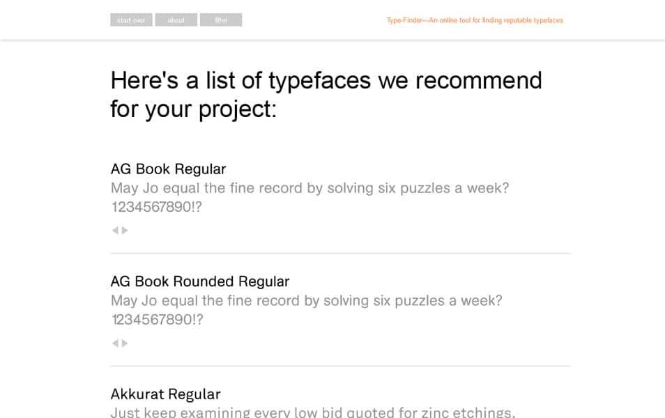 Type-Finder