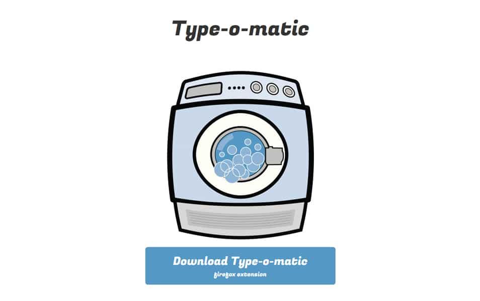Type-o-matic