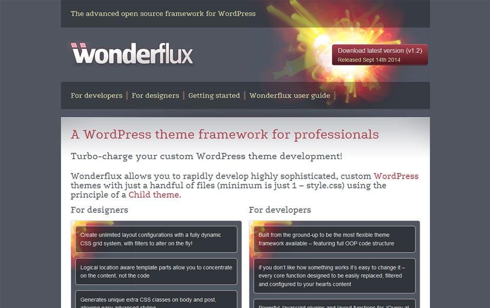 Wonderflux Theme Framework