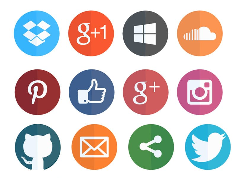 full-moon-social-bookmarking-icons