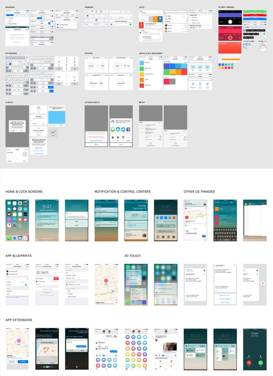 iOS 10 Complete UI
