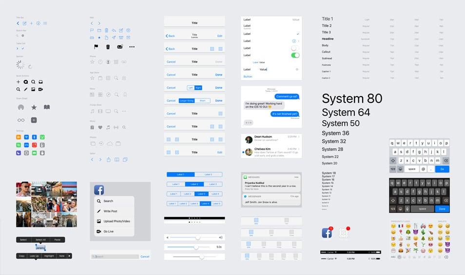 iOS 10 GUI (iPhone)