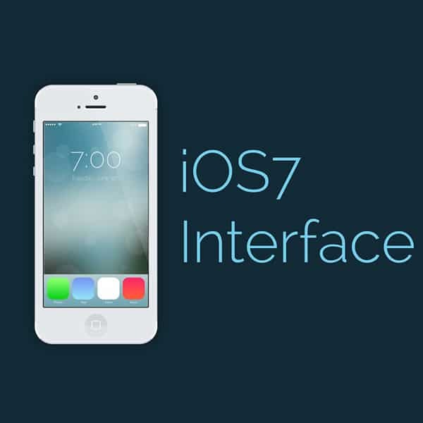 Ios7 Interface Photoshop CS6 Tutorial