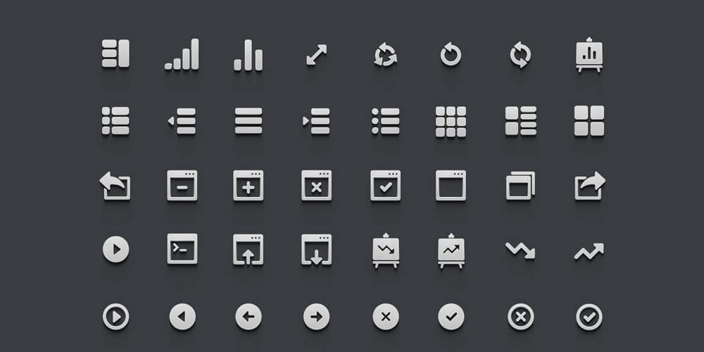 3D Icons PSD