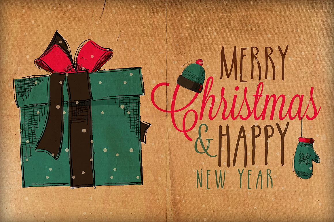 Hipster Christmas Wallpaper Images