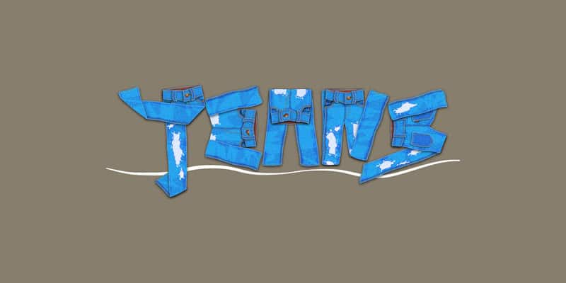 Create A Jeans Text Effect