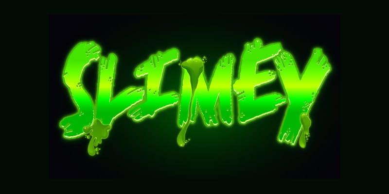 Create a Creepy, Slime Vector Text Effect
