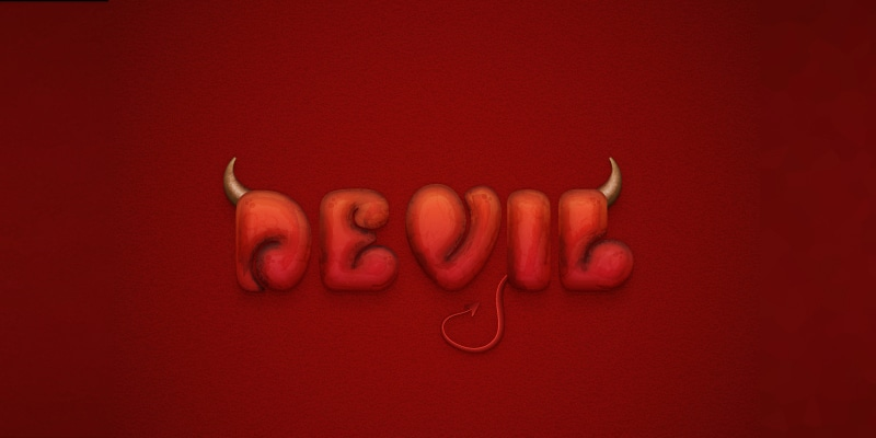 Create a Devilish Text Effect in Adobe Illustrator
