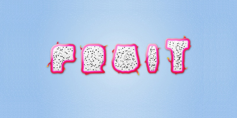 Create a Dragon Fruit Inspired Text Effect in Adobe Illustrator