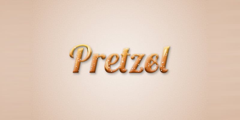 Create a Tasty Pretzel Text Effect in Adobe Illustrator