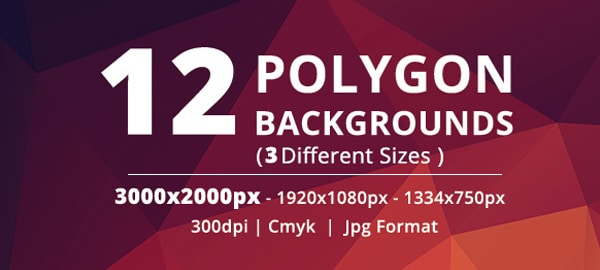 Free Polygon Bacgrounds