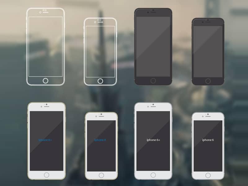 Free iPhone 6 mockups