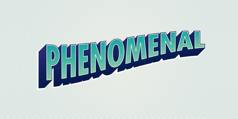 How To Create a Comic Style Text Effect in Illustrator