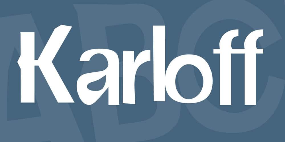 karloff-font