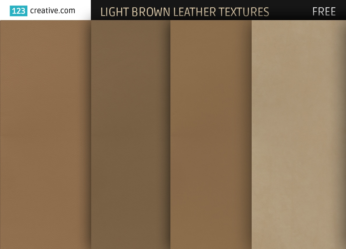 Light Brown Leather Textures