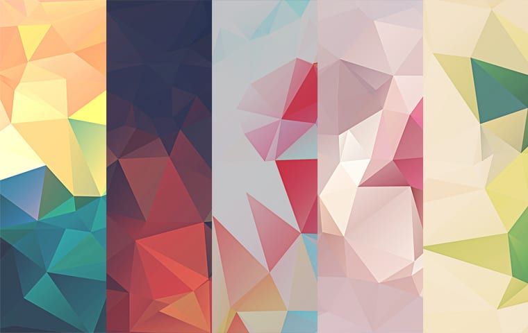 Low Poly Polygonal Texture